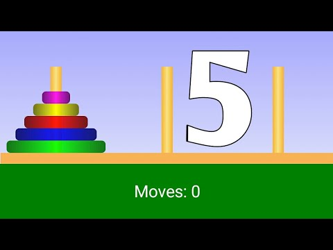 Tower of Hanoi: Five Rings Solution 5.