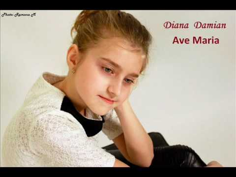 AVE MARIA - DIANA DAMIAN  (cover Celine Dione
