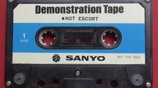 Compact Cassette Demonstration Tape - Sanyo Electric Japan