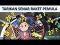 TARIKAN SENAR RAKET YANG MANTAP | UNTUK PEMULA Badminton Tips