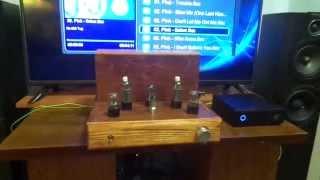 видео Однотактный ламповый усилитель на 6Н5С (по мотивам Ongaku)