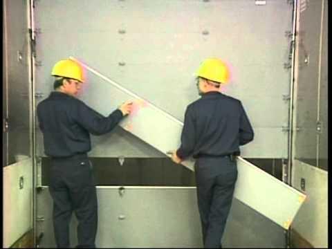 Whiting Door Premium Roll-Up Door - Panel Change & Whiting Door Premium Roll-Up Door - Panel Change - YouTube