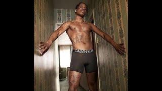 ASAP Rocky's Feminized Calvin Klein Photo Shoot