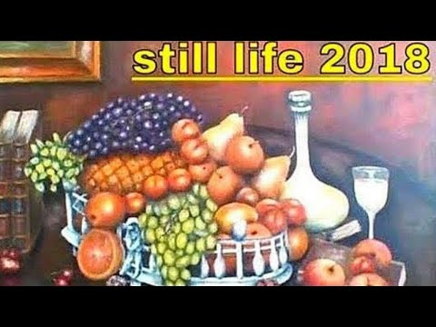 Still Life Paintings I have Painted with ACRYLICS