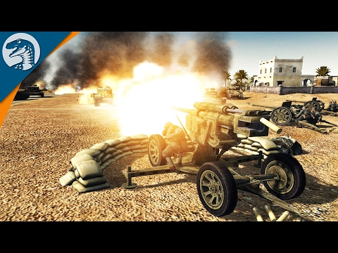 UNBREAKABLE HEAVY GUN DEFENSE | ITALY MOD | Men of War: Assault Squad 2 [MOD] Gameplay