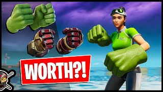 Are The HULK SMASHERS Worth?! Gameplay + Combos! (Fortnite Battle Royale)