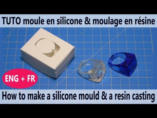 pour la Fabrication de sous-Verres Tapis de Bol Yolistar Pack de 5 Moulle Silicone Resine Epoxy DIY Coaster Mold,R/ésine Moules DIY Effacer Silicone R/ésine /Époxy d/écors