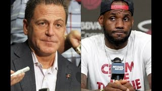 Lebron James Mad at Dan Gilbert