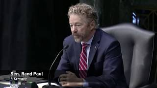 Rand Paul Spars With Anthony Fauci