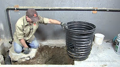 How To Install A Sump Pump Pit