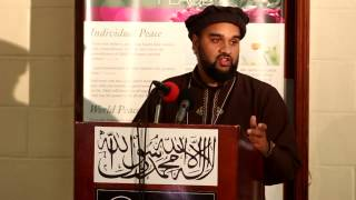 Maulana Umar Akbar speech topic Purpose of Jalsa Salana: Peace with God and with His Creation