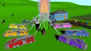 Cover images Firetruck Colors - Learning for Kids