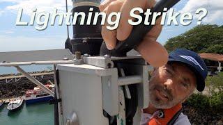 Up the Mast! Lightning Strike?