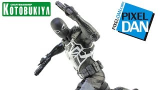 Agent Venom ArtFX+ Kotobukiya 1/10 Scale Marvel Comics Spider-Man Statue Video Review