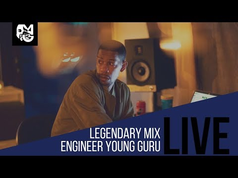 Live | Chopping it up with Young Guru | Legendary Music Engineer