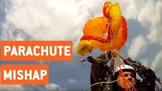 Skydiving Parachute Malfunction | Reserve Parachute