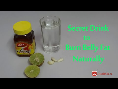 Flat Belly Diet Drink | Lose Belly Fat in a Month without Exercise