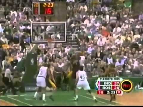 Reggie Miller: Tough Battle vs. Pierce and the Celtics (28 points, 2005 Playoffs)