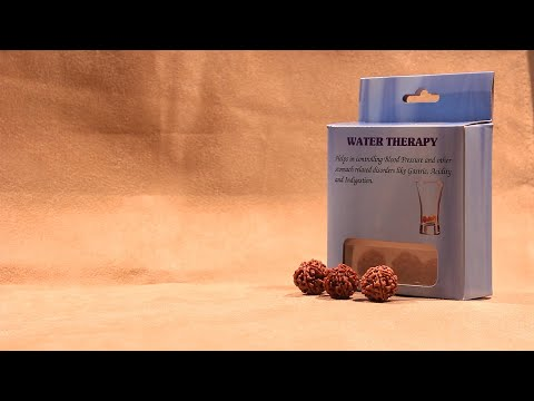 Rudraksha Water Therapy Kit from Rudralife. Get the Rudraksha Power For You!