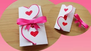ทำการ์ดวาเลนไทน์น่ารักๆ | DIY || Valentine's Day Gift idea