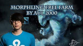 Dota 2 morphling Free Farm by Aui_2000   full game   gameplay   pro   guide   spotlight