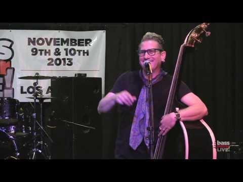 Lee Rocker at Bass Player ! 2013