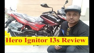 Hero Ignitor I3s 125cc Motorcycles Best Review in Bangla Top Mileage Price Speed With Hridoy Motors
