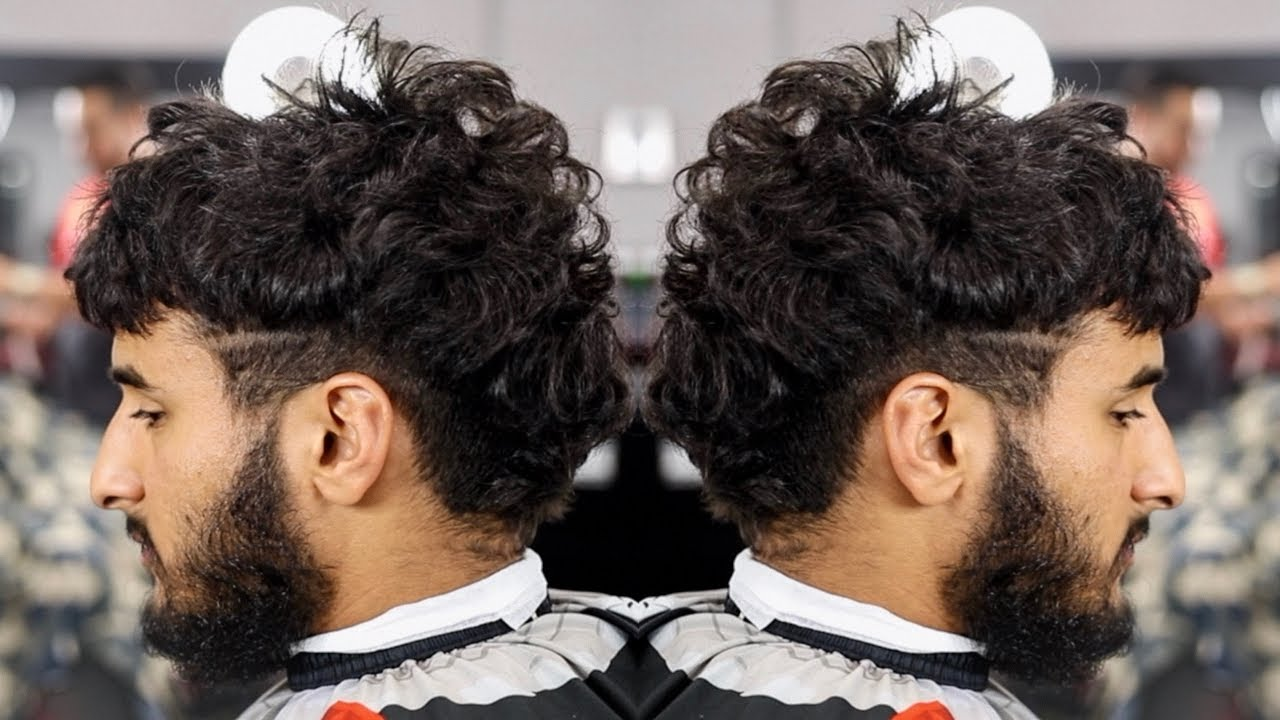 Haircut Tutorial Burst Mohawk Fade W V Back Perfect