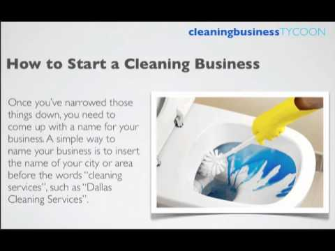 How To Start A Cleaning Business In Canada