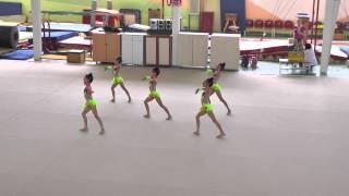 ODTÜ SK Ritmik Cimnastik Ankara Bölge Birincisi