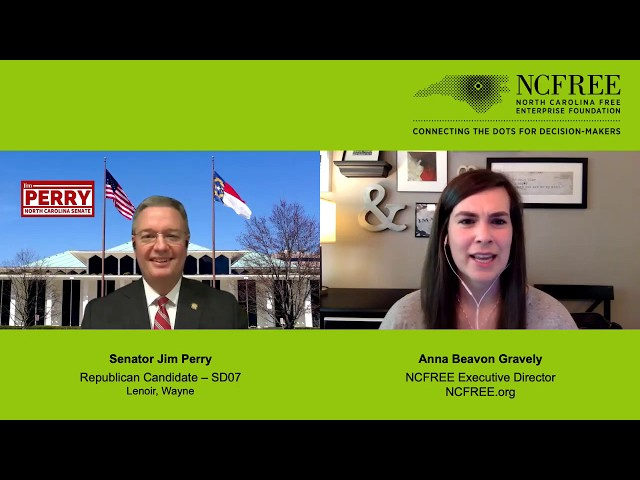 NCFREE Candidate Interview - Jim Perry, SD-07