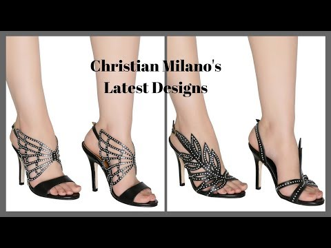 Latest Beautiful Designs of Ladies Girls and Women Heels Shoes Footwear Collection