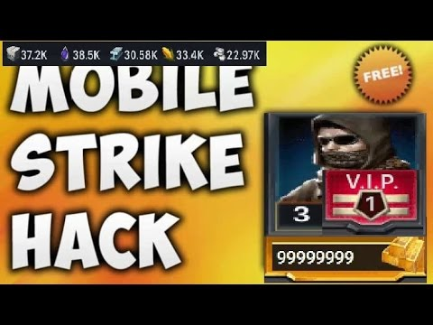 Mobile Strike hack - free gold hack [ iOS & Android ]