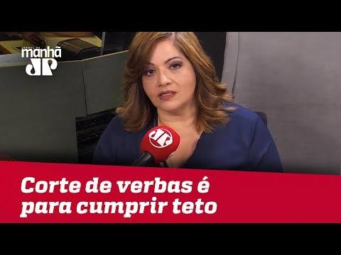 Corte de verbas é para cumprir teto de gastos | #DeniseCamposdeToledo