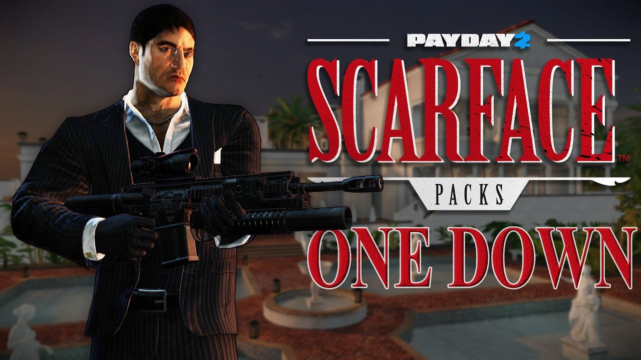 payday 2 scarface packs. Black Bedroom Furniture Sets. Home Design Ideas