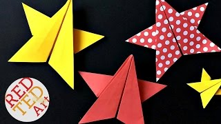 Origami Star DIY - 5 Pointed Origami Paper Star DIY - Paper Crafts