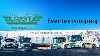 Evententsorgung GAST AG Utzenstorf