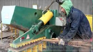 видео Metal Shearing Machines