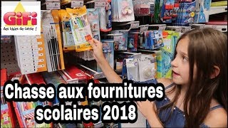 [BACK TO SCHOOL 2018] - CHASSE AUX FOURNITURES SCOLAIRES - GIFI