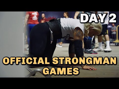OFFICIAL STRONGMAN GAMES | Day 2