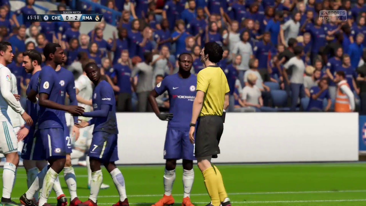 FIFA - Chelsea vs Real Madrid Online Division Title - Cup ...