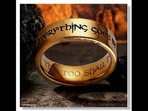 Притча про царя Соломона. Ничто не проходит.