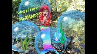 Real Life Mermaid??? SKIT!! When She Gets in the Water-- LOOK OUT!!  Crazy Mystery