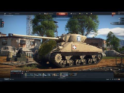 13 Kills With The M4A4 (SA50) Super Sherman(War Thunder Gameplay)