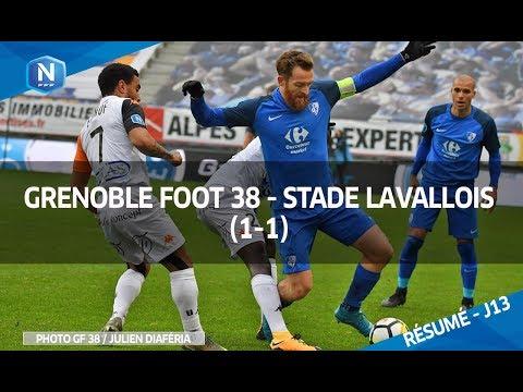 J13 : Grenoble Foot 38 - Stade Lavallois (1-1), le résumé