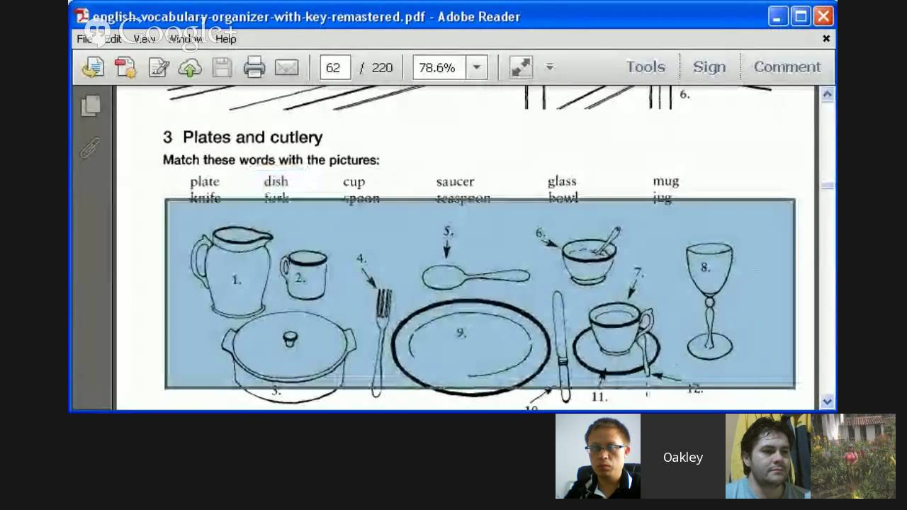 Vocabulary for the Kitchen - YouTube