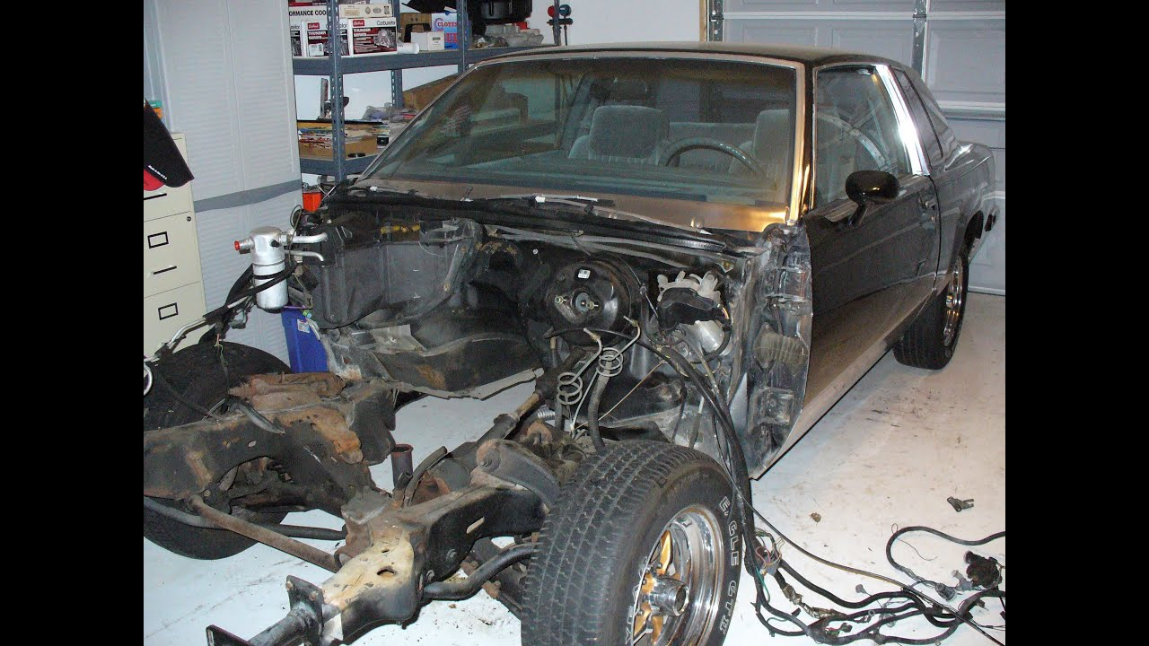 1987 Olds 442 Video 1 Prepping The Body For Frame Off