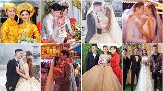 Đây là những điều khác biệt thú vị trong đám cưới cùng ngày của Lâm Khánh Chi và Chúng Huyền Thanh