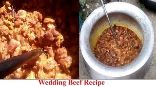Wedding Beef Recipe || Biye Bari Style || How To make Beef Recipe || Beef Curry - Bangladeshi Style