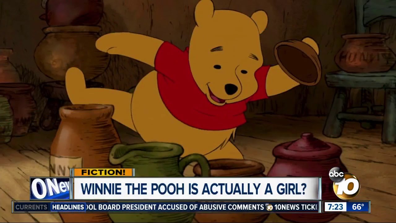 94d831933822 Is Winnie the Pooh a girl  - YouTube